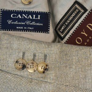 48S Tailored* Canali Exclusive 100% CASHMERE COAT